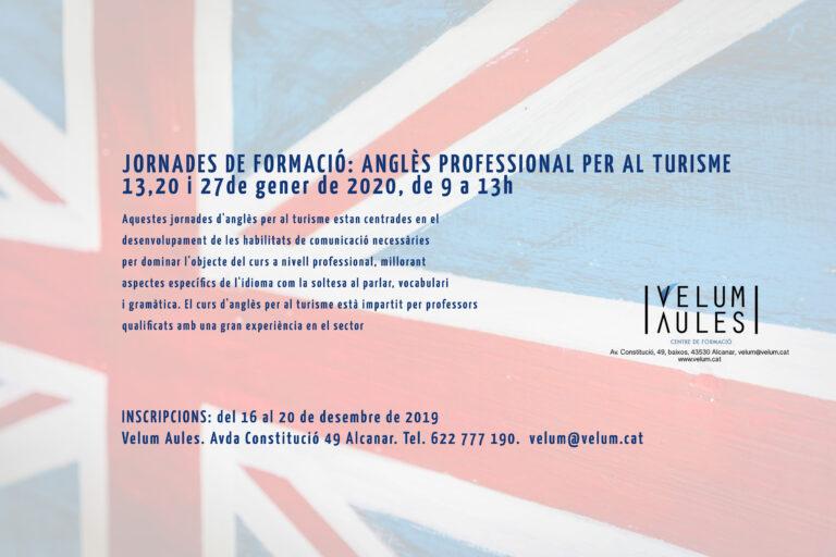 Anglès professional per al sector turístic.