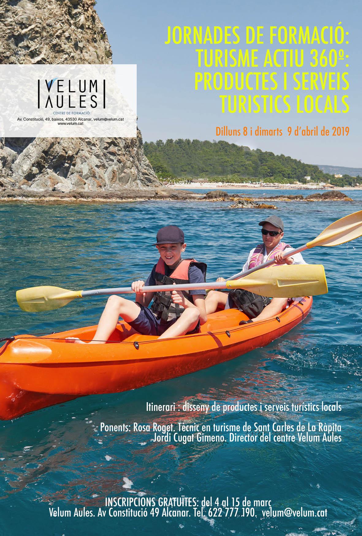 Jornades de formació: Turisme actiu 360º: Productes i serveis turistics locals
