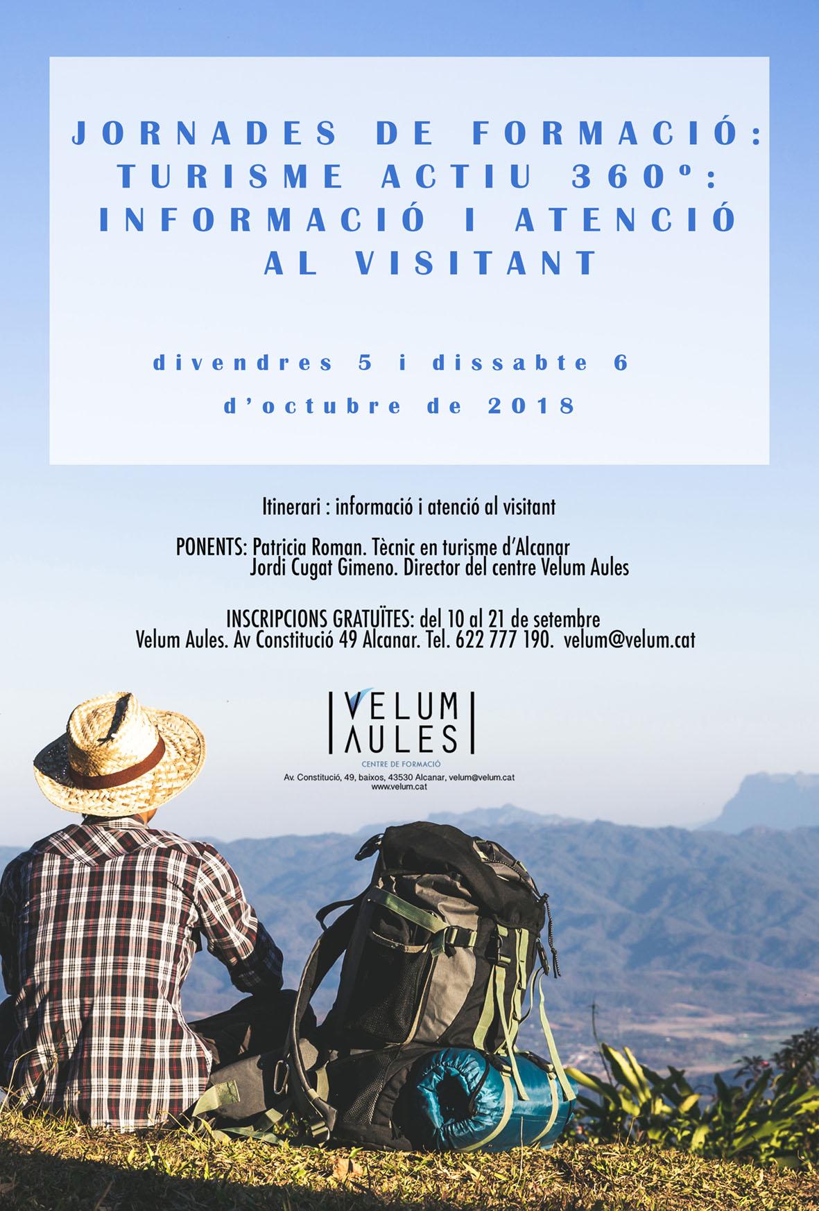 Jornades de formació: Informació i atenció al visitant.