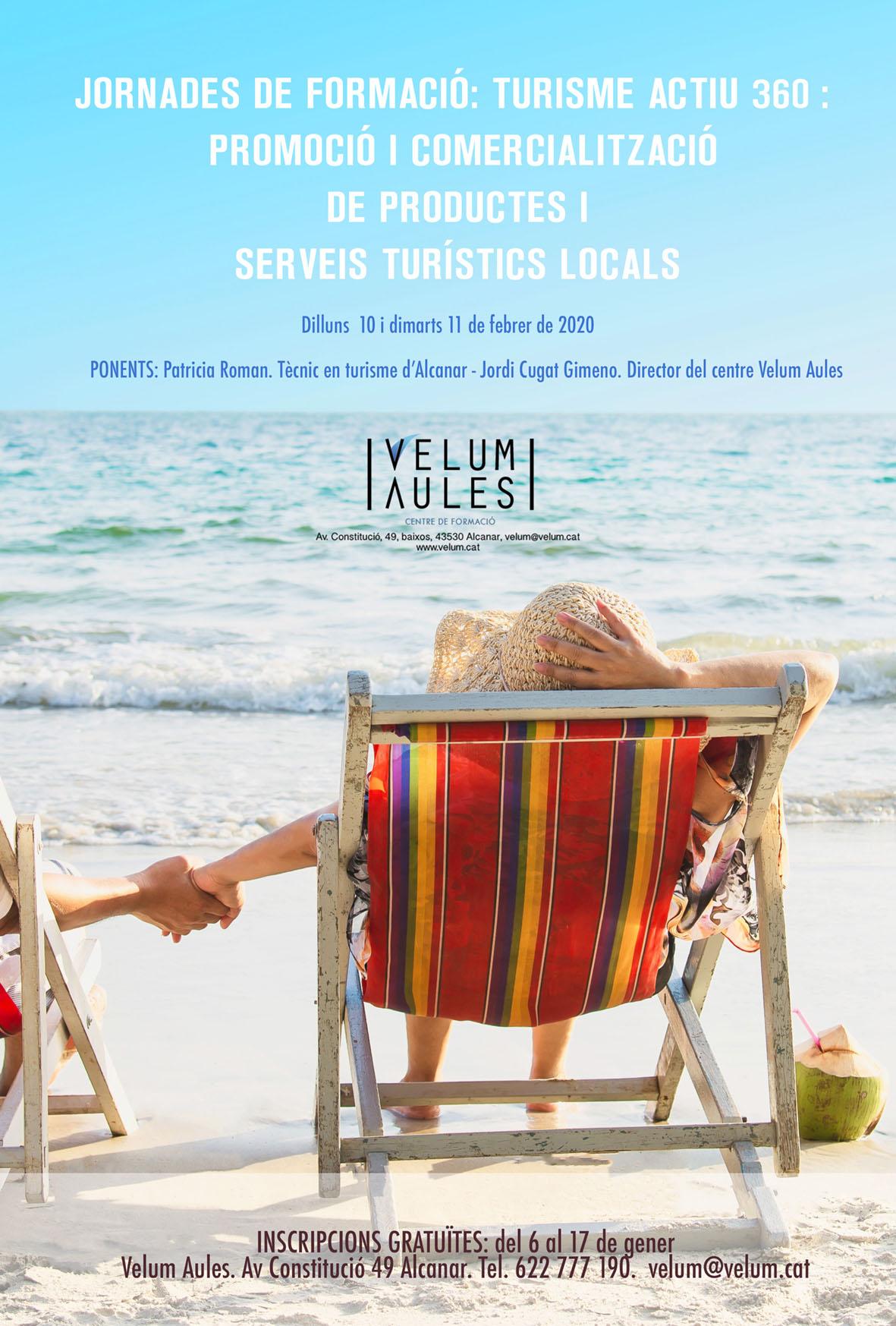 Turisme Actiu 360: Promoció i comercialització de productes i serveis turístics locals.
